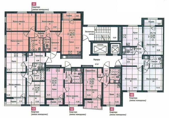 Планировки жилого квартала цветной бульвар Екатеринбург