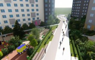 «Группа ЛСР» построит в Екатеринбурге «цветной» бульвар